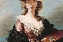 Marie-Louise-Elizabeth Vigee-Lebrun (1755 - 1842) / Vigee-Lebrun była nadworną  portrecistką  Marii Antoniny, a także najsłynniejszy kobietą  malarzem  XVIII. stulecia.