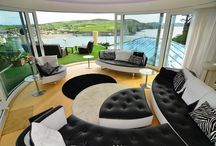 Case Study: Amazing Isle of Man views realized / Fantastic panoramic views of the southern tip of the Isle of Man from a luxurious bed and breakfast property are fully exploited using every product from UK balustrading specialist Balcony Systems' wide range of low-maintenance clear glass balustrading and curved sliding patio doors. Read more here: http://www.balconette.co.uk/CaseStudy.aspx?sID=63