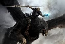 Awesome / Collection of art that I find cool. Mostly fantasy landscapes and armor designs.