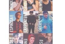 MAGCON BOYS (and Mahogany) / Old magcon. Not the next magcon.