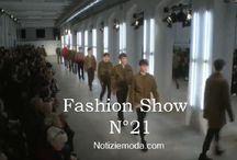 N°21 uomo / N°21 collezione e catalogo primavera estate e autunno inverno abiti abbigliamento accessori scarpe borse sfilata uomo.