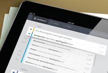 Tablet UI | Timeline / Tablet Design Inspiration