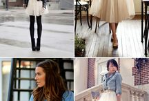 Style Inspiration / Outfits and fashion that inspire me