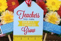 teacher gifts / by Rebekah Zinser