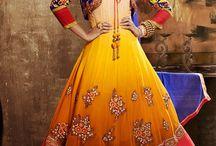 Anarkali...oll tips dress...