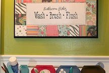 bathroom ideas / by Kelli Wilkie Begley