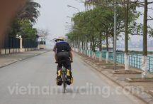 Biking Around Hanoi