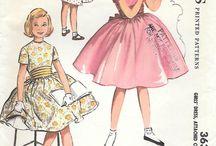 Vintage sewing patterns children