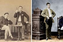 Old photo restoration with color