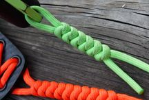 Paracord / Jewellery, survival and really useful knots.