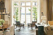 Mediterran white windows