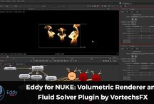 Eddy for NUKE: volumetric renderer and fluid solver plugin by VortechsFX