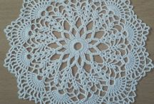 small crochet doily by me