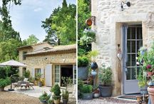 HOMeSTyLe ~ European Countryside Living / If I had a house in Provence or Tuscany.....this would be it *Bliss*