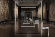 Nendo, Mimicry Chairs installazione al Victoria & Albert Museum