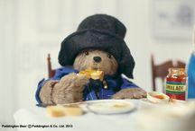 Paddington Bear / Bear who LOVES marmalade sandwiches