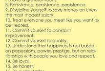 Life advice, quotes, wisdom
