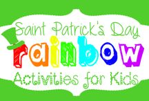 St. Patrick's Day / Fun St. Patrick's Day crafts and activities for children in preschool and kindergarten.