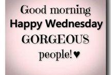 Woensdag / Wednesday