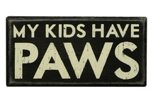 My kids have paws / by Kyla Chappell