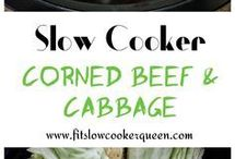 Corned Beef & Cabbage Slow Cooker