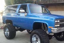 custom cars/trucks