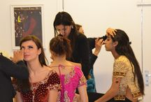 Malika Jafrin Behind the Scenes / Behind the scenes for makeup shoots, bridals, videos.