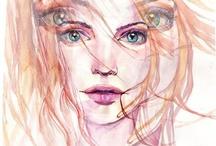 Beautiful women / Beautiful artworks  for interiors