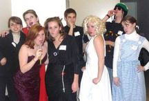 Halloween party games! / Mystery party games (and other games) that can be used for Halloween parties.