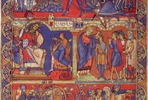Romanesque 'Painting' / Romanesque art refers to the art of Europe from approximately 1000 AD to the rise of the Gothic style in the 13th century, or later, depending on region.