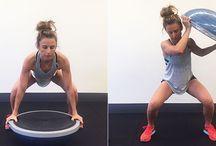 workout - bosu