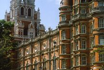 Royal Holloway Campus / Royal Holloway is set in the beautiful surroundings of Surrey, close to Windsor Great Park and Virginia Water. The campus itself boasts beautiful scenery from the Founders Building (used in episodes of Downton Abbey) to the woodland walkways covered in daffoldils during the spring