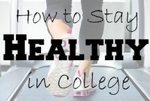 Self Care / Healthy lifestyle tips, exercise & recipes for college students.