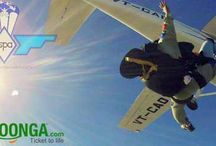 KyaZoonga.com: Buy tickets online for Skydiving Camp India