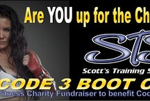 Code 3 For a Cure / Code 3 for a Cure helps raise awareness and money for Fire Fighters who are battling cancer. #bootcamp