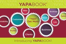 YapaBook / Laura's Design Studio has worked with Yapabook to create their Sales Card, Emails and Landing Page