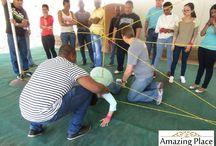 Sanlam Sky Hitting The Target Team Building Event