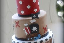 pirates cakes party