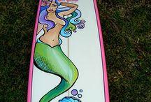 Surfboard Art / by James Wine