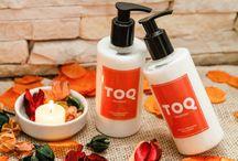 Produtos - Linha TOQ Mar&Mel / A Linha TOQ foi elaborada no pouco tempo que as pessoas tem para se cuidarem, por isso nossos produtos são fáceis de usar, são absorvidos rápidos pela pele e deixam uma textura macia e suave na sua pele.