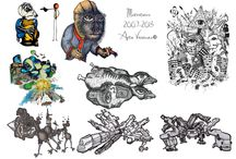 My Art / Design / Art & Messes of Arto Väisänen.  Contact: art.vaisanen@gmail.com