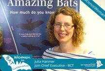"Women in Bat Conservation / Women have played a large role in bat conservation. To celebrate their contributions and to inspire women everywhere, Bat Conservation International is highlighting ""Women In Bat Conservation"" from around the world as a part of Women's History month, March 2015."