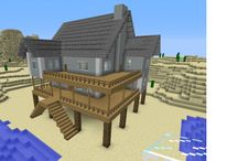 MINECRAFT!!! / It has houses, people, skins and seeds