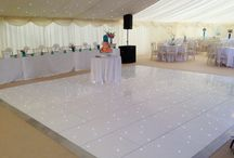 Wedding Marquees / Supporting our sister company Tents N Events, here are some fabulous ideas for an alternative to a venue. Marquees are so easy to transform into what you want for your special day!
