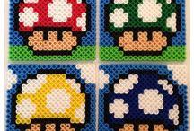 ★펄러비즈&비즈공예(& loom patterns)