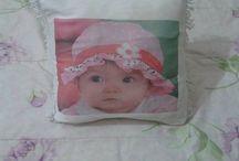 capa de almofada com foto de bebê por R$ 10,00