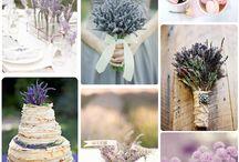 handmade svadby - fialová/prírodná/vintage
