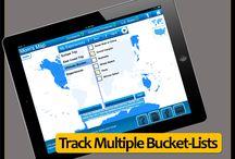 Travel Goal Getter iPad App