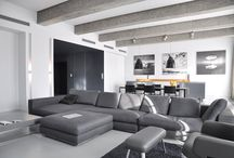 HOME, HOUSE, APARTMENT _ PULVA _ A.03 / PULVA, minimalistic, interior design, minimal, modern, materials, home, homestyle, house, dom, kitchen, living room, bathroom, dining room