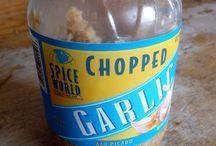 Canning garlic